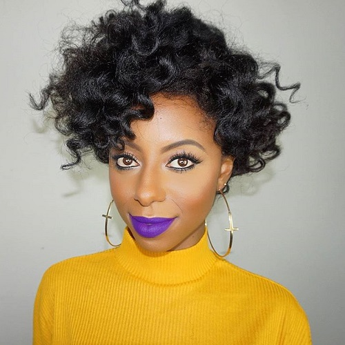 Fine 75 Most Inspiring Natural Hairstyles For Short Hair In 2017 Short Hairstyles For Black Women Fulllsitofus