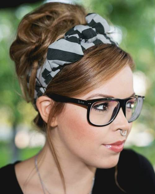 Hipster Beehive Updo