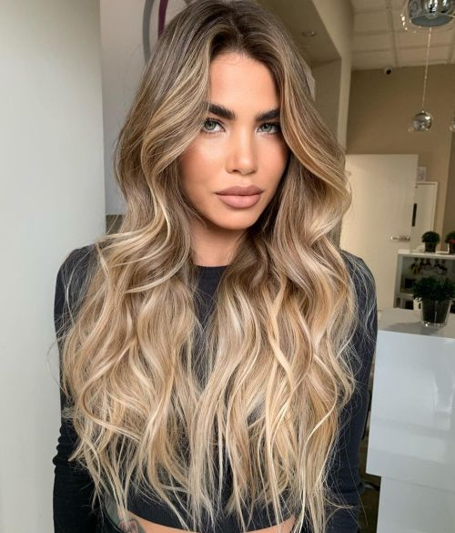 Sunkissed Balayage Hair