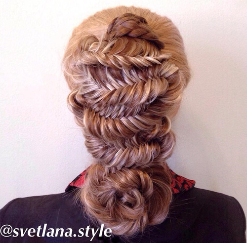 Braid hairstyles with straight hair