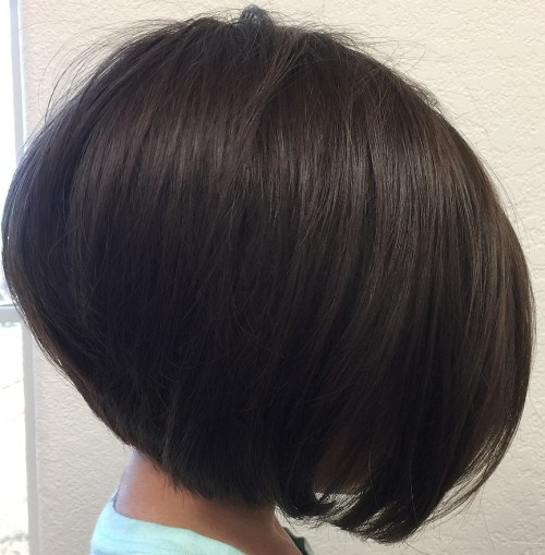 Stacked Bob For Young Girls