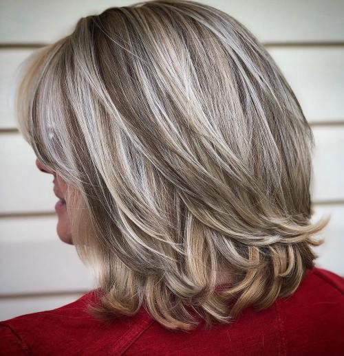 Womens Mid Length Hairstyles: The Best Hairstyles For Women Over 50: 80 Flattering Cuts