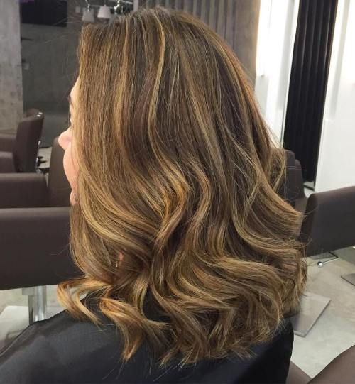 Golden Blonde Highlights For Brown Hair