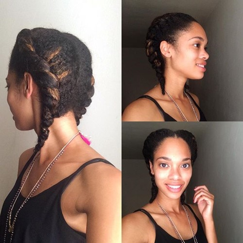 two twists hairstyles for natural hair