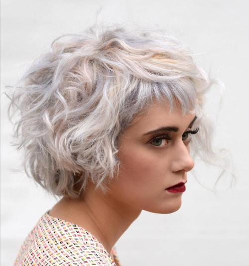20 beautiful blonde hairstyles to play around with - Bob silberblond ...