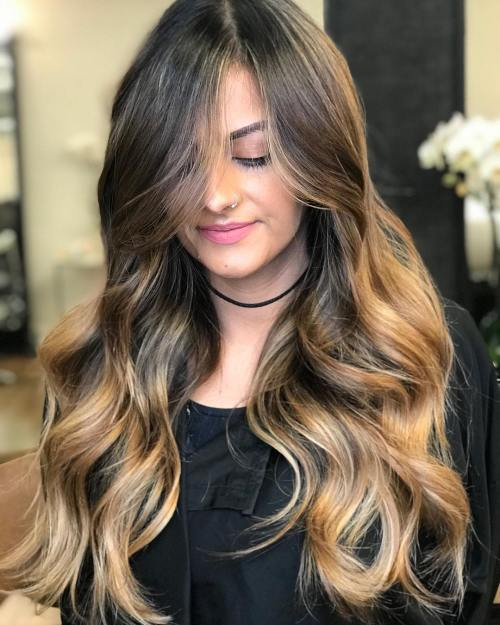 Honey Blonde Highlights For Brunette Hair