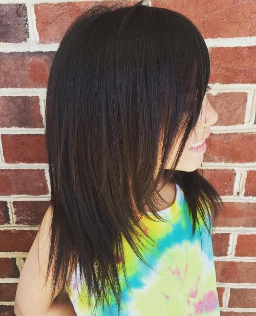 Shoulder Length Haircuts For Girls Straight 91