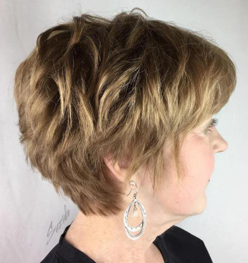style short hair 80 best hairstyles for 50 to look younger in 2019 1172 | 8 textured pixie for thick hair