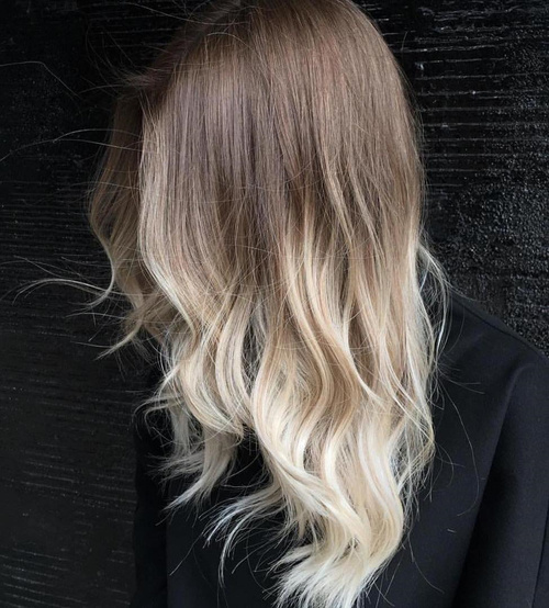 60 best ombre hair color ideas for blond brown red and black hair brown to blonde ombre for layered hair urmus