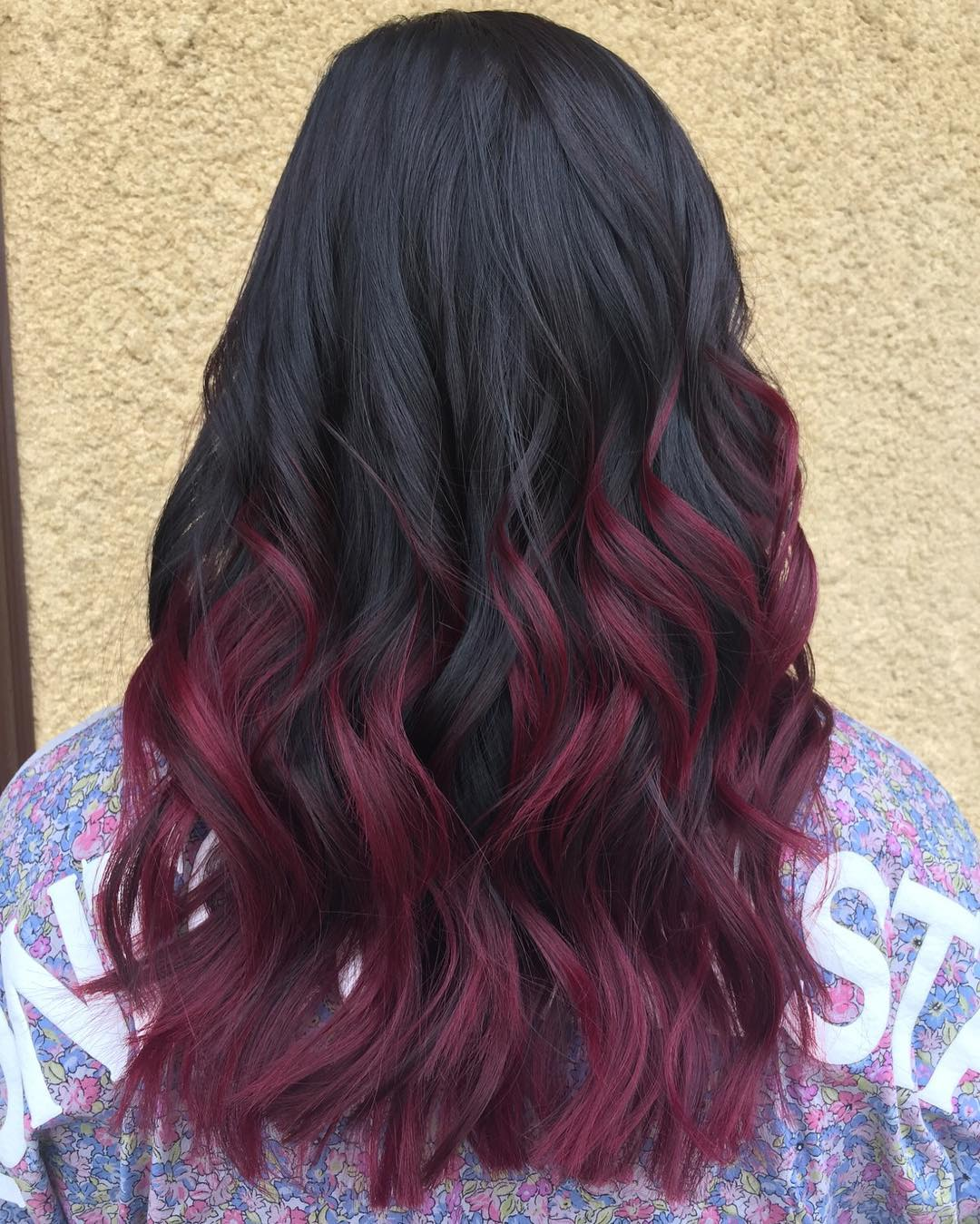 50 shades of burgundy hair dark burgundy maroon burgundy with burgundy highlights for black hair pmusecretfo Images
