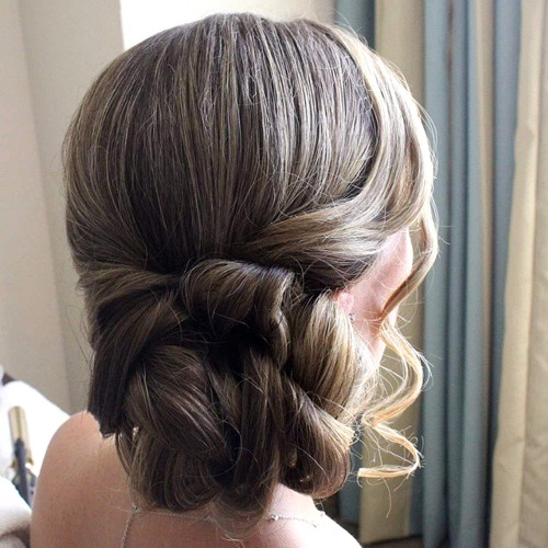 Prom Twisted Side Updo