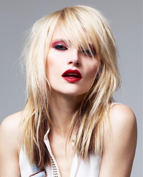 Straight Blonde Hair Styles 26