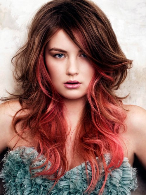 Enjoyable 60 Best Ombre Hair Color Ideas For Blond Brown Red And Black Hair Hairstyles For Women Draintrainus