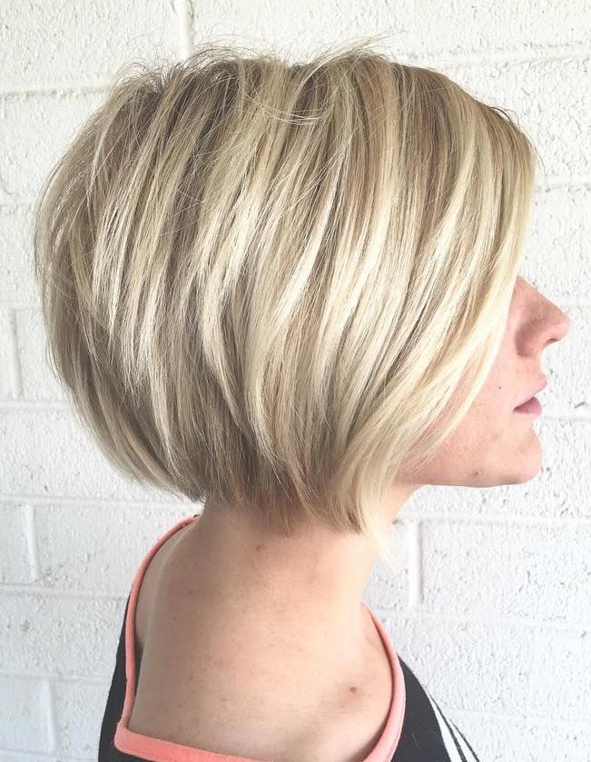 Bob haircuts for thin fine hair