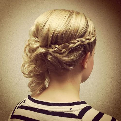 60 updos for thin hair that score maximum style point braided updo for fine hair pmusecretfo Image collections