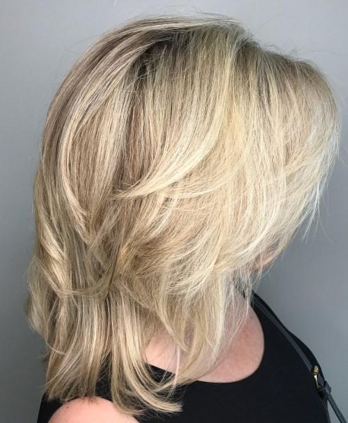 Medium Choppy Cut For Fine Hair