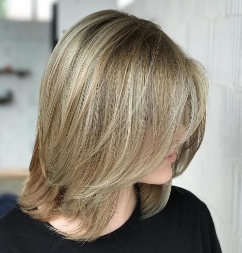 Long Blonde Bob For Fine Hair