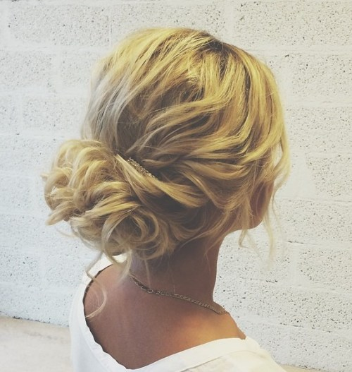 Low Loose Bun Hairstyles For Weddings: 60 Updos For Thin Hair That Score Maximum Style Point