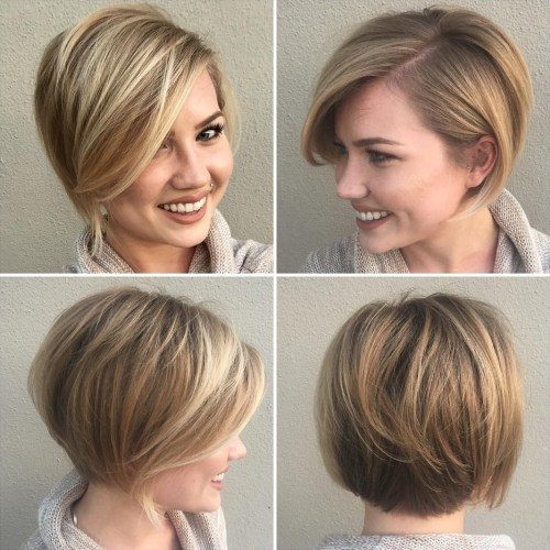 Layered Bob Hairstyles For Fine Thin Hair 49