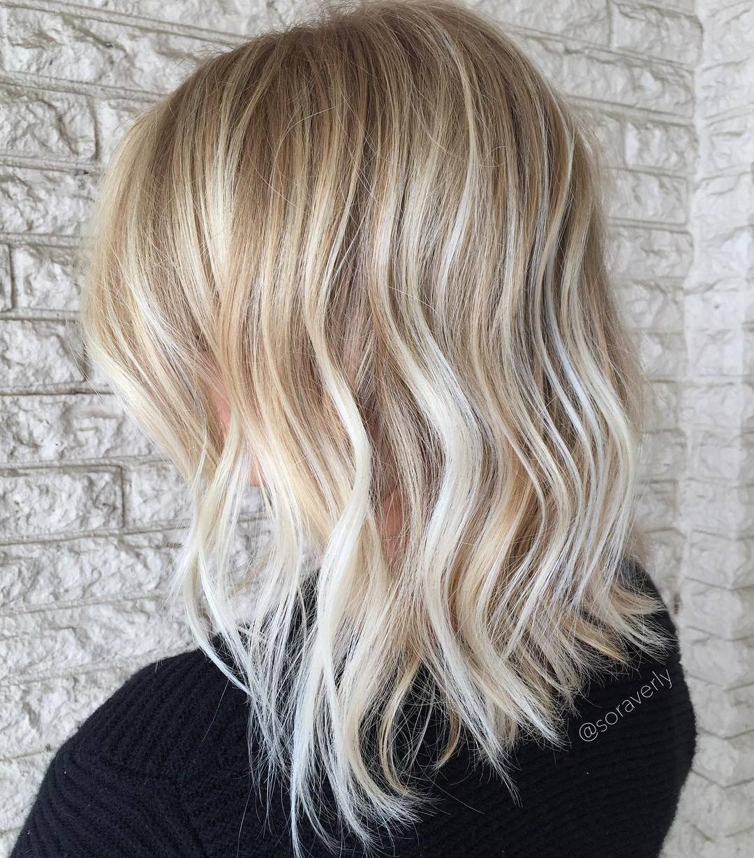 Mid Length Haircut With Textured Ends 70 Devastatingly