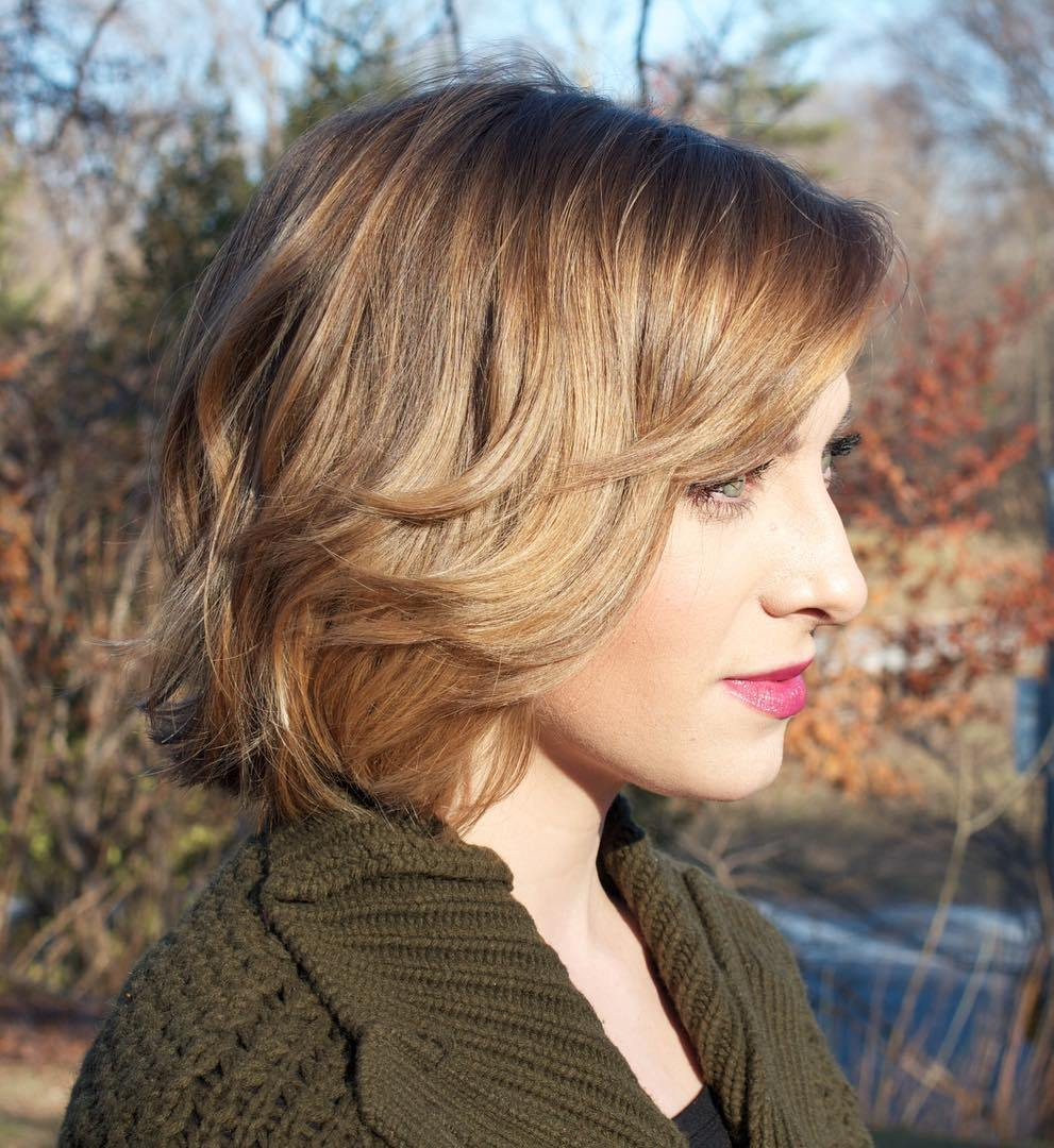 Awesome Bob Haircuts For Fine Hair Long And Short Bob Hairstyles On Trhs Short Hairstyles Gunalazisus