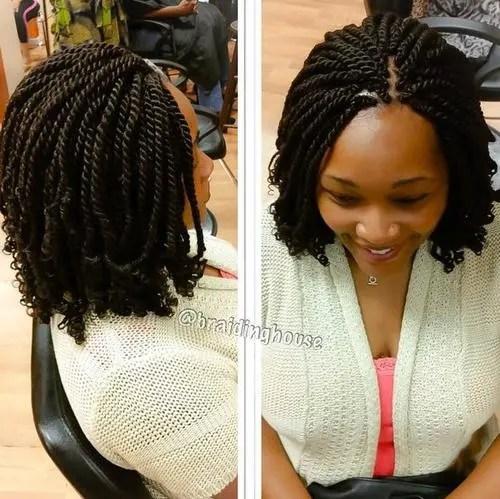 Miraculous 50 Thrilling Twist Braid Styles To Try This Season Short Hairstyles Gunalazisus