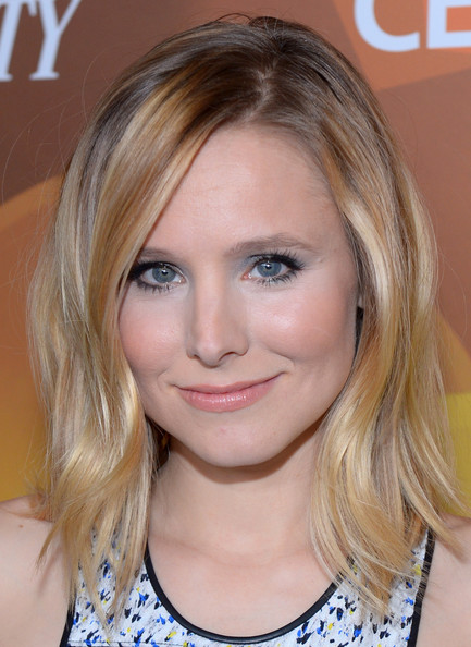 shoulder length styles for fine hair 70 darn cool medium length hairstyles for thin hair 2869 | Kristen Bell Shoulder Length Hairstyles