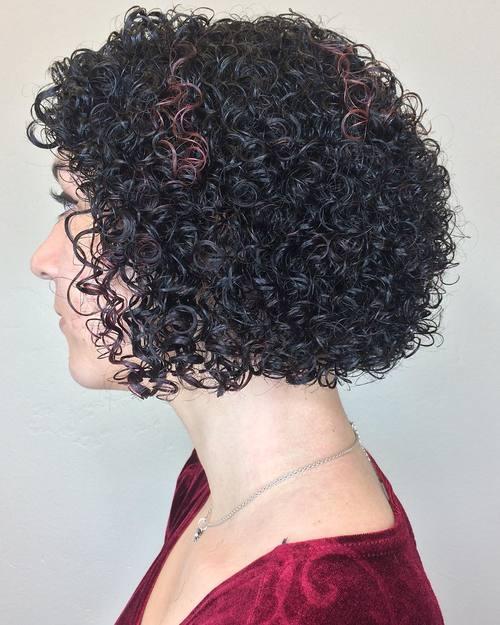 Perm Bob Hairstyle