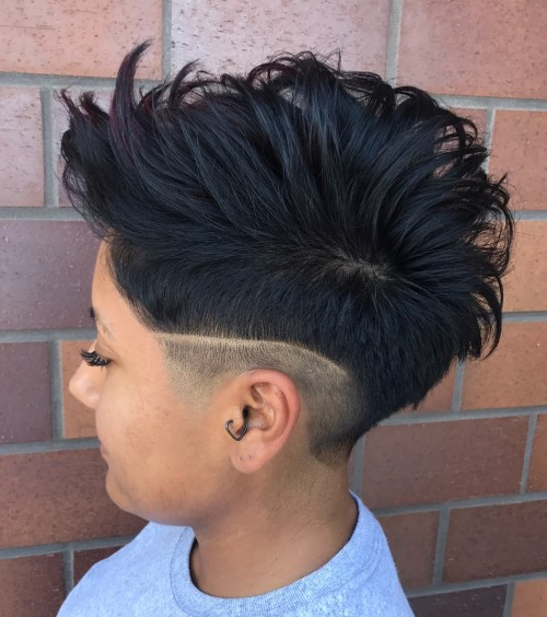 Pompadour Hairstyle For Women