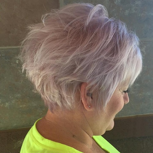Find mature hairstyle