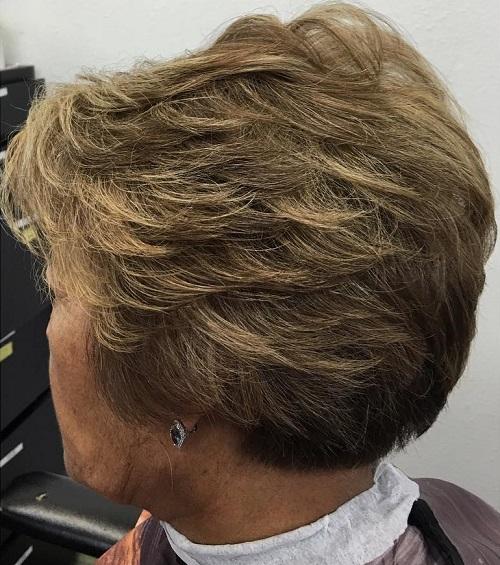 Older women hairstyles short hair