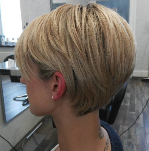 Tapered Pixie For Straight Thick Hair