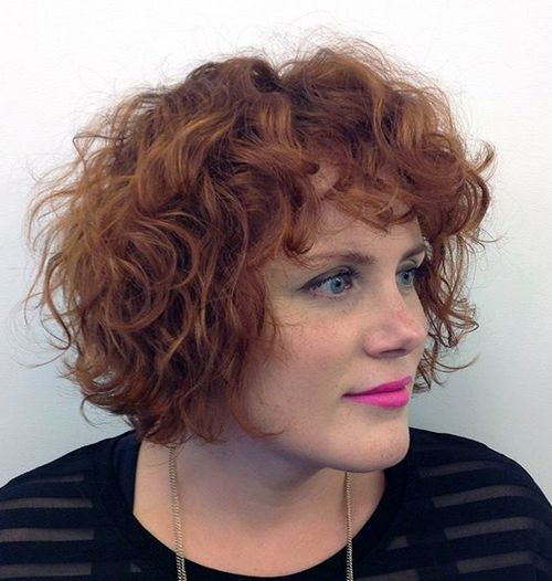 different styles for bobbed hair 50 different versions of curly bob hairstyle 6323 | 12 red curly bob with bangs