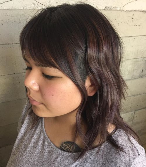 Medium Layered Cut With Temple Undercut