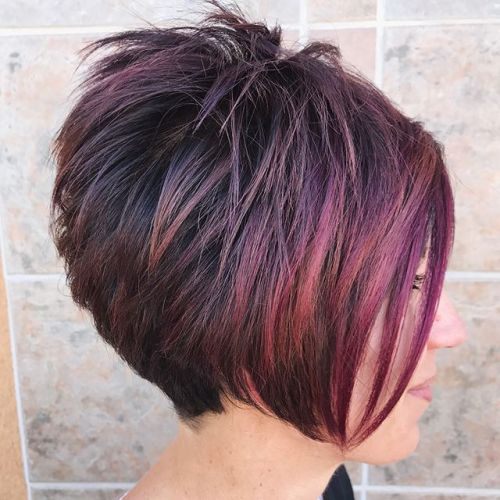 Short Spiky Hairstyle For Women With Thick Hair