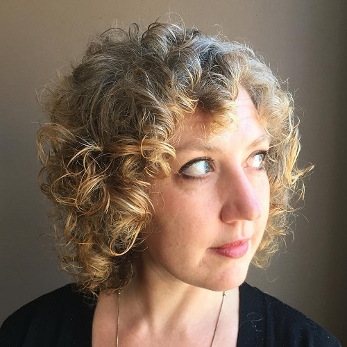 short haircut for curly hair 40 different versions of curly bob hairstyle 1269 | 15 short curly hairstyle for gray hair