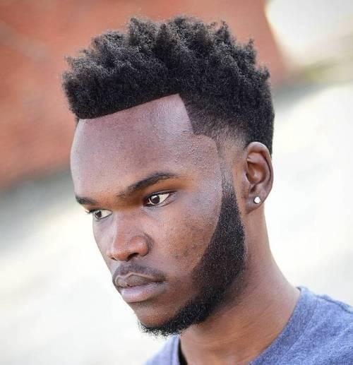 Natural Line Up Haircut