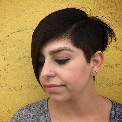 Pixie With Extra Long Side Bangs