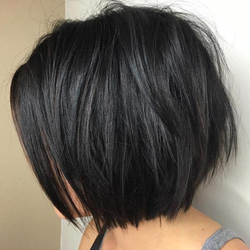 Sliced Black Bob