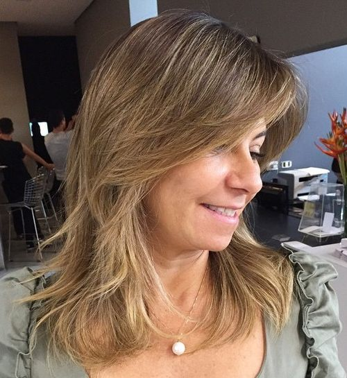 Magnificent 35 Lovely Long Shag Haircuts For Effortless Stylish Looks Short Hairstyles Gunalazisus