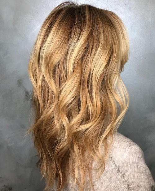 Long Layered Wavy Hair
