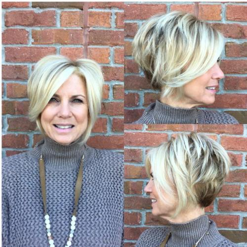 chic haircuts during to 50