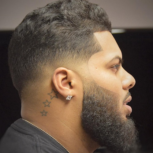 Black Low Fade Haircut