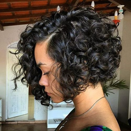 Wavy Bob Hairstyles Without Bangs : 40 different versions of curly bob hairstyle