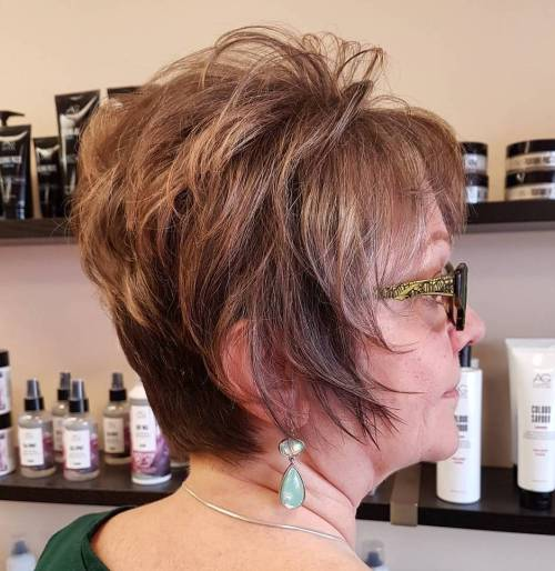 Feathered Pixie For Older Women