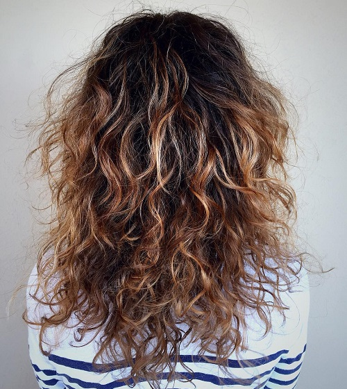 Medium Brown Ombre Balayage