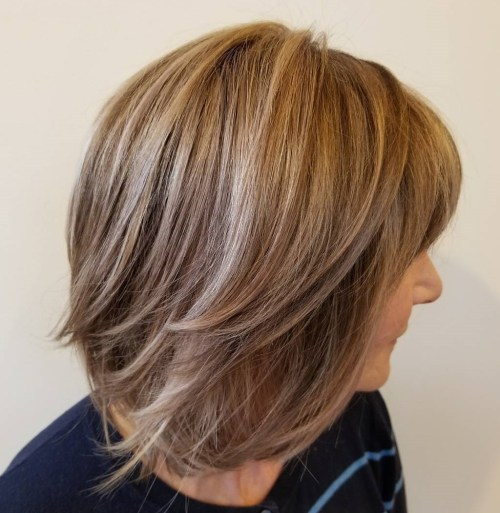 Straight Bob Hairstyles For Women Over 50