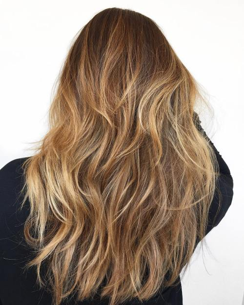 Long Layered Hairstyle