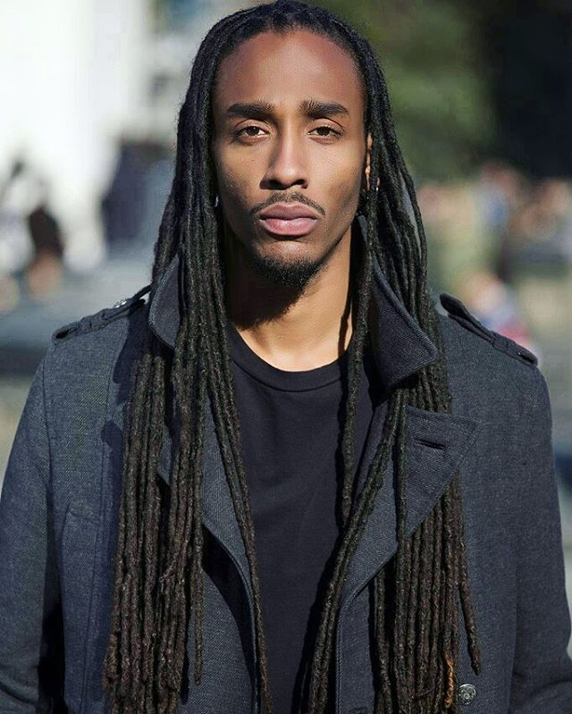 Long Thin Dreadlocks For Men
