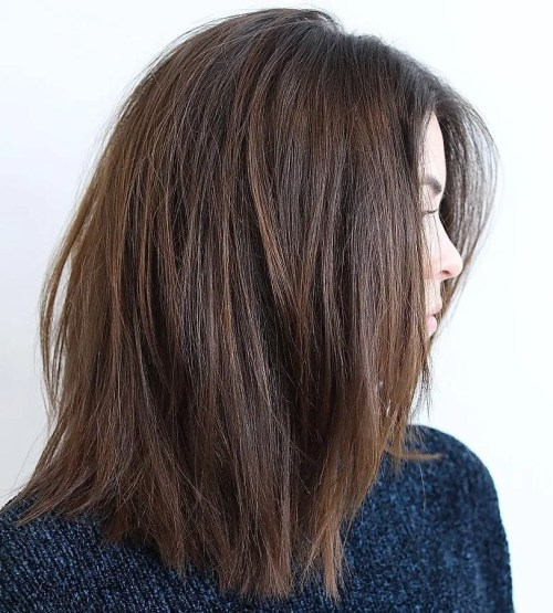 Medium Haircut For Thick Hair